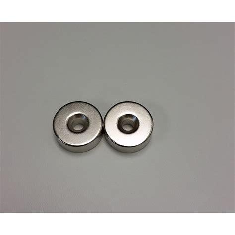 nelson door magnet chrome 22x 8mm 2pk bunnings