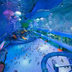 china s olympic stadium turned into an indoor water park
