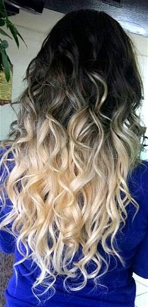black and blonde ombre images hair on pinterest two toned hair purple ombre and black