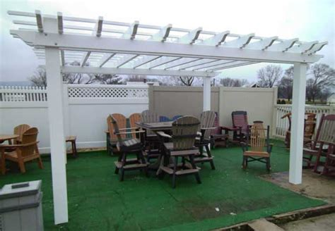 Free Shipping On Our Precut Quick Assembly Pvc Pergola Pvc Pergola Kits