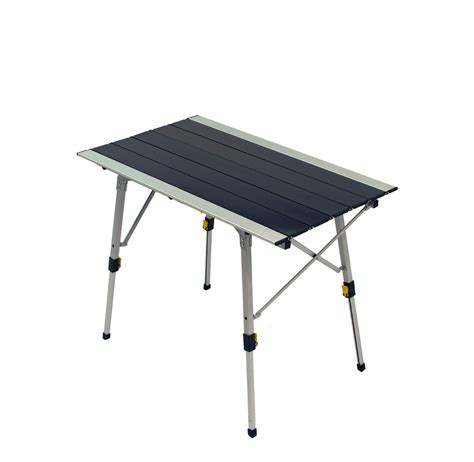 roll up portable table grand roll up adjustable height portable table