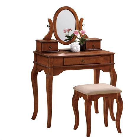 Poundex Vanity Set With Stool by Vanities Find A Bedroom Vanity Or Makeup Vanity Cymax