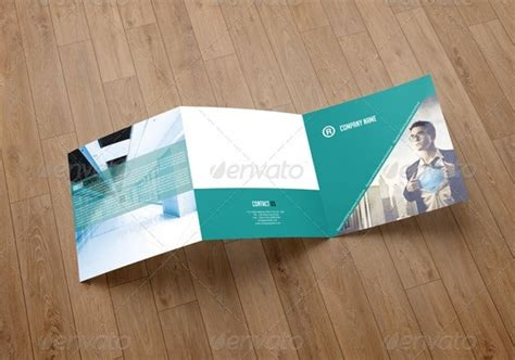 2014 Free Premium Brochure Templates 56pixels Com Square Trifold Brochure Template