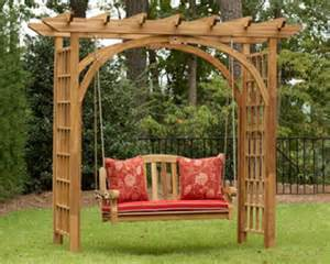 Swing Pergola Designs by Garden Pergola With Swing Backyard And Patios