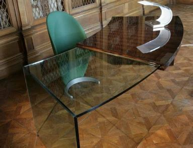 coffee table with legs in murano glass sassi reflex