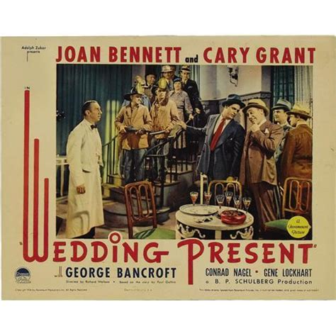 Gift Card For Wedding Present - wedding present paramount 1936 lobby cards 5 11 quot