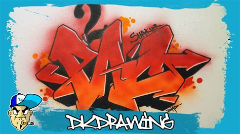draw pac shakur graffiti letters step  step