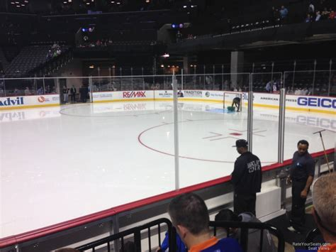 barclays center section 6 new york islanders