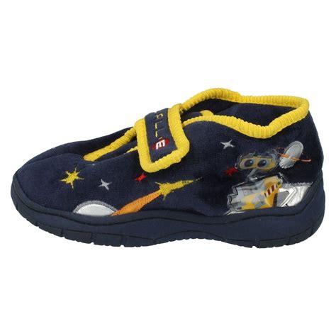 disney house shoes boys disney slippers pixar walle ebay