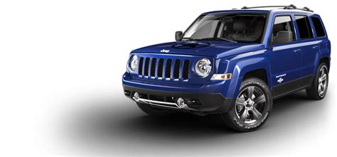 blue jeep patriot 2014 jeep patriot freedom edition oscar mike suv jeep