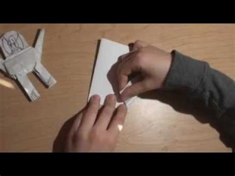 Origami Wars General Grievous - how to make an origami general grievous wars