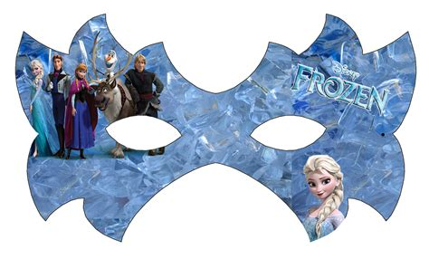 Printable Mask Frozen | free coloring pages of print elsa mask free