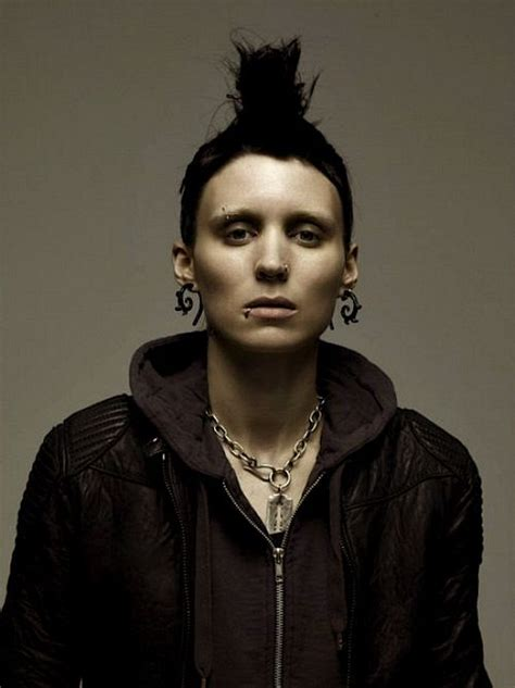 rooney mara the girl with the dragon tattoo lisbeth salander with the the