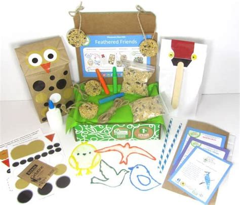 kid craft subscription box april 2014 green kid crafts spoiler find subscription boxes