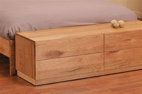 box for bed messmate hardwood end of bed storage box bailey range