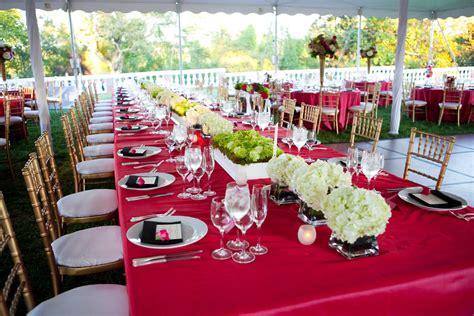 decorations de table decoration de table fushia or mariageoriginal