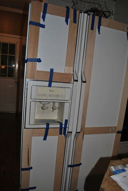 how to cover refrigerator with cabinet amazing grays diy paneled refrigerator how to your