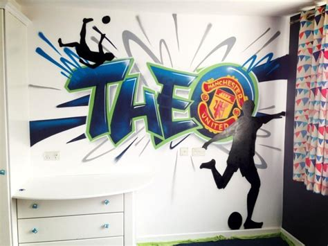Graffiti Designs For Bedrooms Children Graffiti Murals And Child