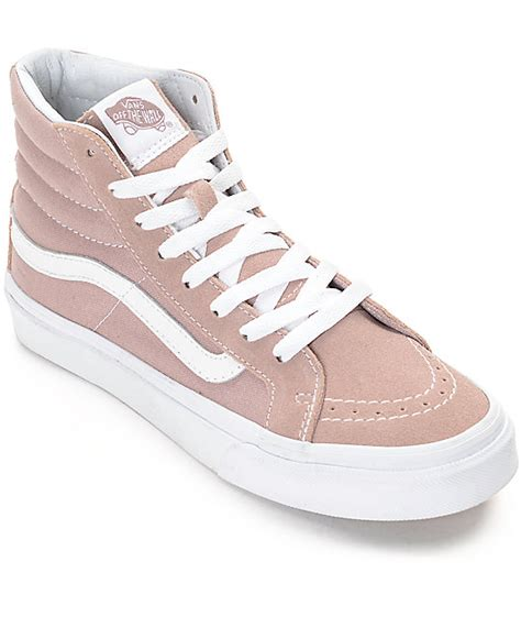 Vans Gift Card Number - vans sk8 hi fawn mauve womens skate shoes