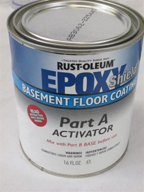 epoxy shield basement floor coating black gray white