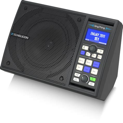 singthing speakers  monitors vocal tc helicon