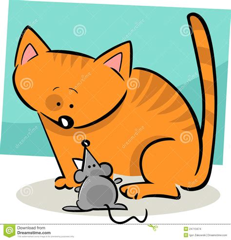 doodle animado do doodle dos desenhos animados do gato e do rato imagens de