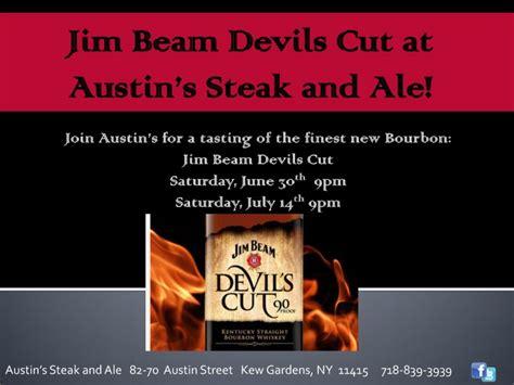 haircut austin coupons jim beam devils cut promo at austin s steak ale