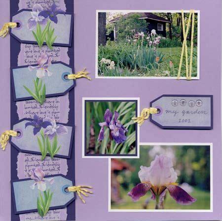 scrapbook layout idea books 17 best images about scrapbook gardening on pinterest