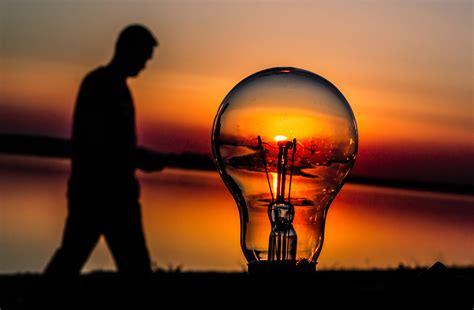 sunset in a light bulb by gabrieloravetz on deviantart