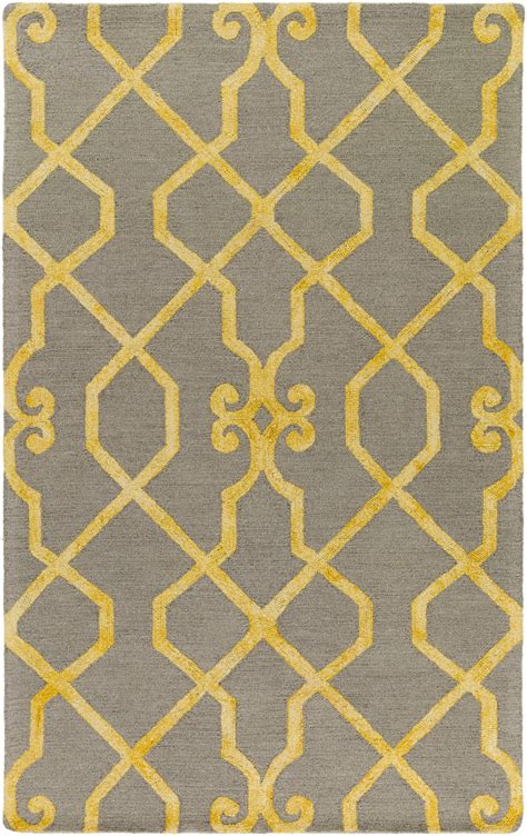 bright yellow rug artistic weavers organic amanda bright yellow gray area rug rugs and decor