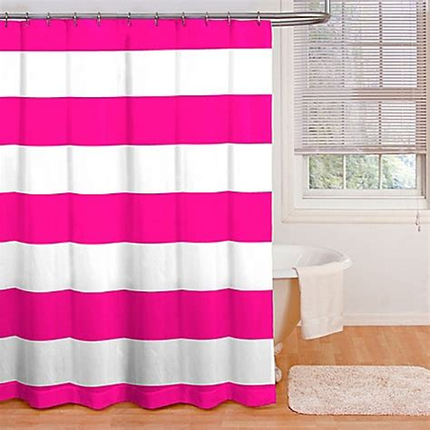 Pink And White Striped Curtains Pink And White Striped Shower Curtain Curtain Menzilperde Net