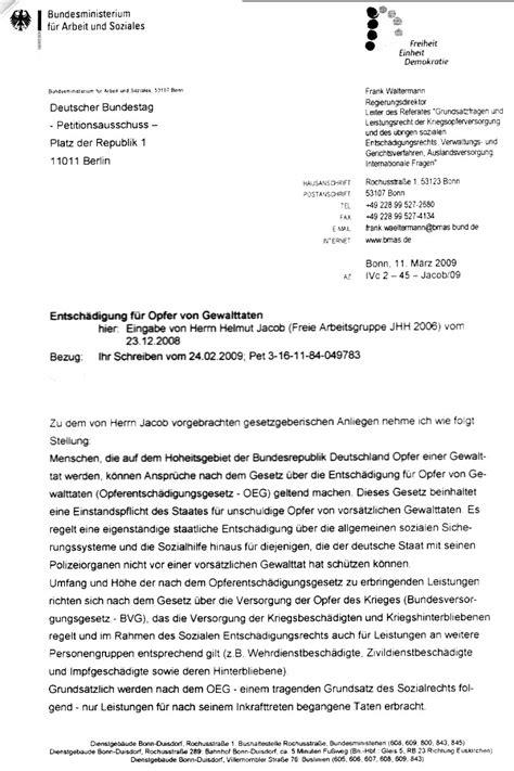 Anschreiben Bewerbung Herr Oder Herrn Petition Der An Den Deutschen Bundestag
