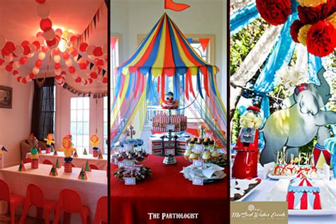 circus theme decoration ideas roll up 16 big top circus ideas