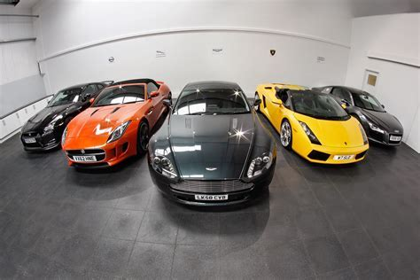 High performance cars need an Ecotile garage floor!   Ecotile