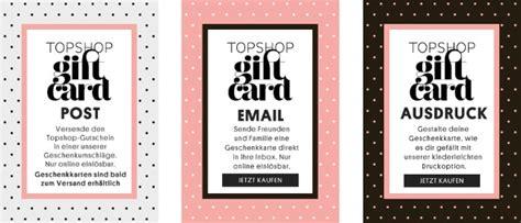 Topshop E Gift Card - ᐅ topshop gutschein februar 2018 187 28 gutscheincodes