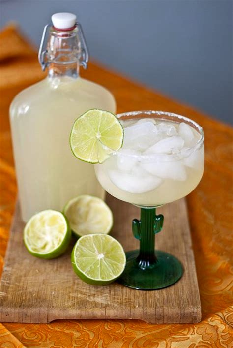 Handmade Margarita - diy margarita mix national margarita day 2016
