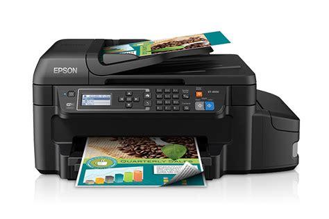 Printer Epson Ecotank epson workforce et 4550 ecotank all in one printer inkjet printers for work epson us