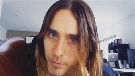 jared leto gif find amp share on giphy