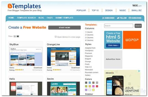 free blogger themes one column 17 best images about mybloggerthemes on pinterest