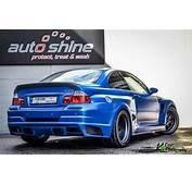 Crass Part  BMW E46 M3 With ASUKA Wide Body Kit