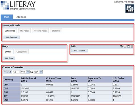 liferay layout template download liferay portal news