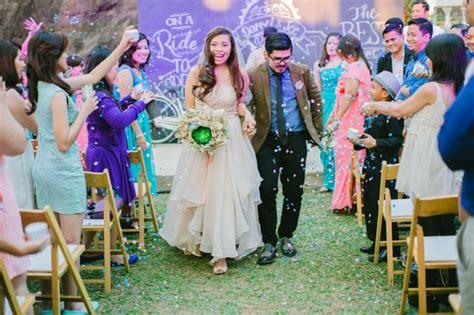 rustic wedding   philippines rock