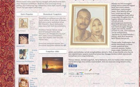 blogger aceh template aceh indonesia download template blogger khas