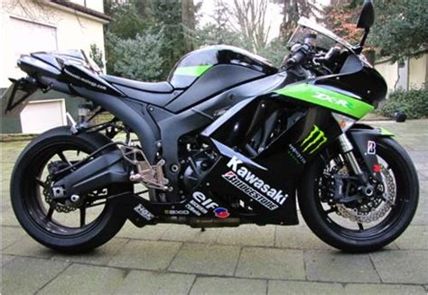 Monster Aufkleber Kawasaki by Zx 10 Zx6r Aufkleber Set Monster Hopper F 252 R Kawasaki 09 V 2