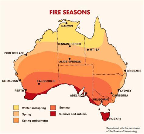 does new year occur in australia bushfires