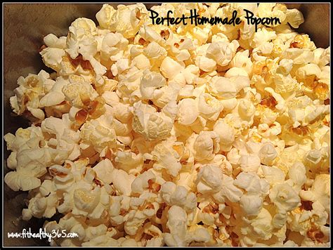 Handmade Popcorn - how to make popcorn recipe fit