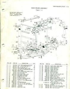 john deere baler parts diagram car interior design