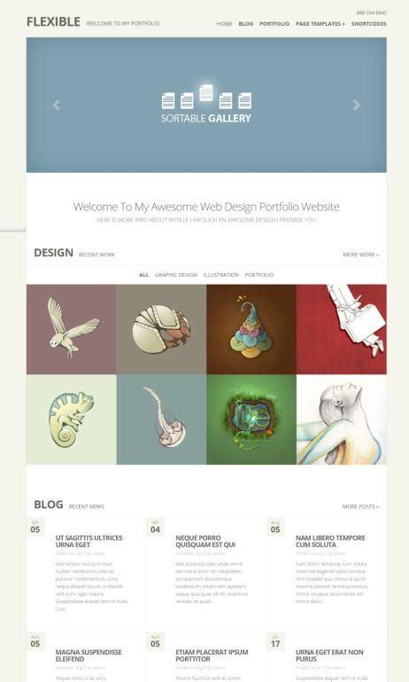 wordpress theme flexible layout flexible theme review elegant themes must read