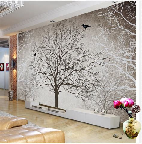 4d tapete aliexpress buy retro black and white tv backdrop