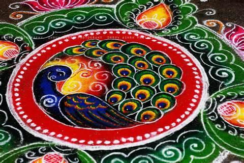 pattern art competition rangoli noisy pilgrims
